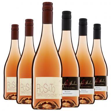 Bild 1 von 1 - Weingut Schäfer & Sohn, Probierpaket, Rosé